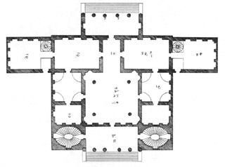 Palladio 39 s italian villas cornaro for Palladian style house plans